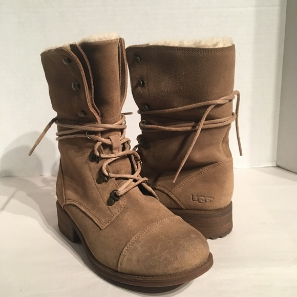 30e2d79622d Ugg Women's Gradin Chestnut Fold- Down Boot